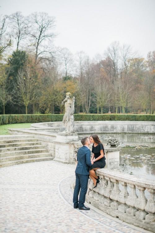 Love story in the secret garden